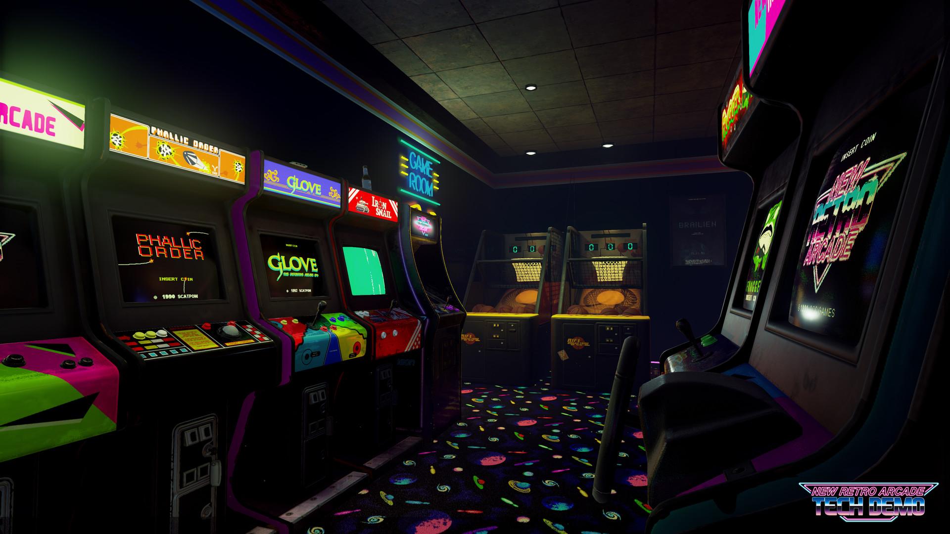 New Retro Arcade Neon El Sueno De Tener Un Autentico Salon