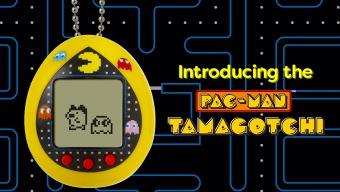 Ya puedes criar tu propio Tamagotchi con la ayuda de Pac-Man