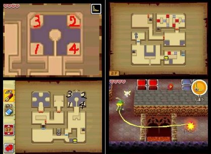 Zelda Phantom Hourglass (Nintendo DS)