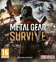 Carátula de Metal Gear Survive - PC