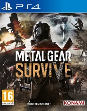 Carátula de Metal Gear Survive - PS4