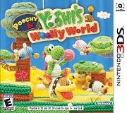 Carátula de Poochy & Yoshi's Woolly World - 3DS
