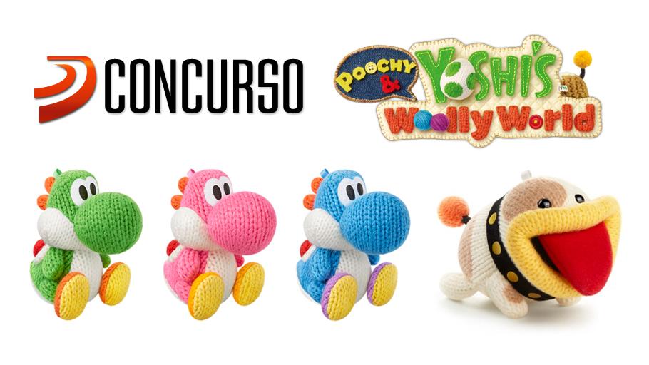 Gana Un Pack De 4 Amiibo De Yoshi Y Poochy Con Tuneatuyoshi