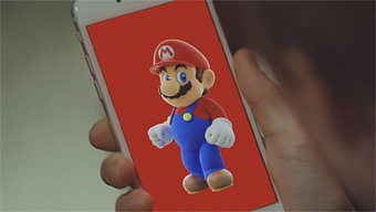 Video Super Mario Run, Anuncio