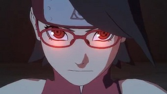 Video Naruto Ultimate Ninja Storm 4  - Road to Boruto, Gameplay: Sarada Uchiha