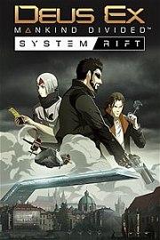 Carátula de Deus Ex: Mankind Divided - System Rift - PS4