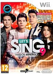 Carátula de Let's Sing 9: Versión Española - Wii