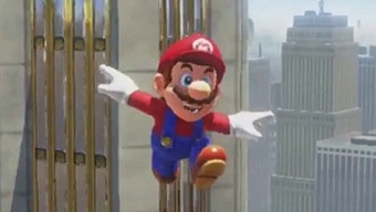 Video Super Mario Odyssey, Explorando New Donk City