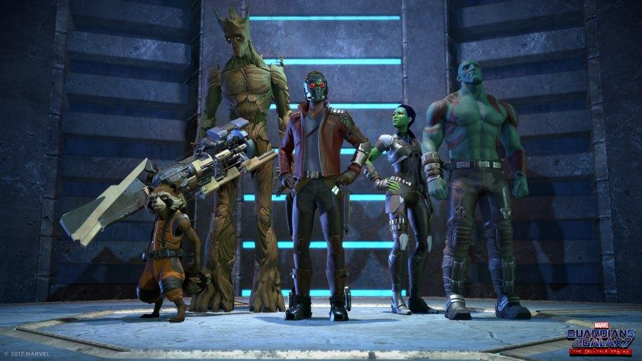 Guardianes de la Galaxia - The Telltale Series