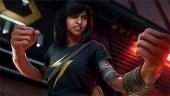 Ms. Marvel lista para luchar en Vengadores con este nuevo tráiler del juego