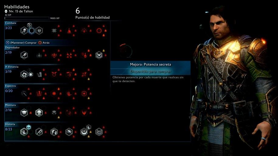 La Tierra Media Sombras de Guerra Xbox One