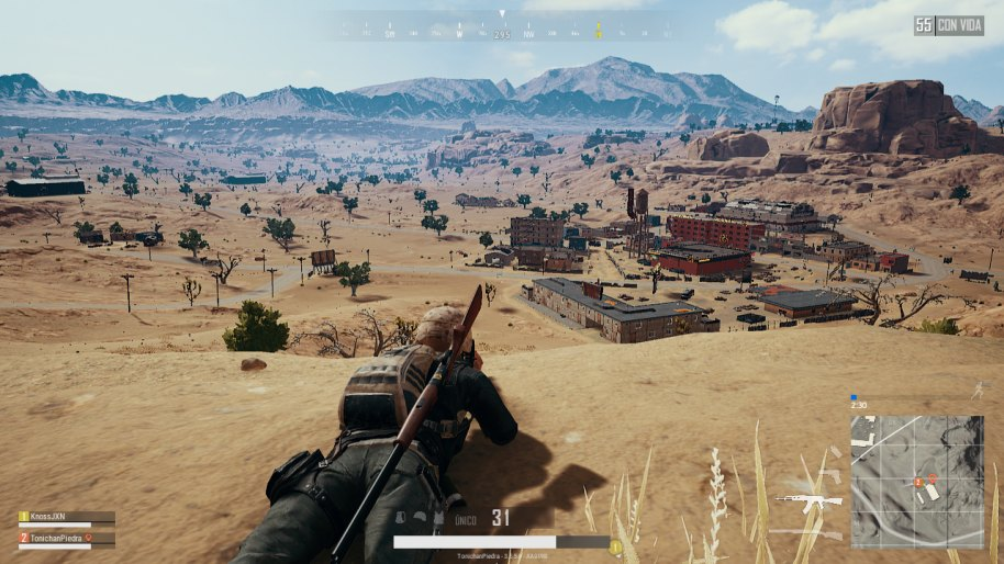 PlayerUnknown's Battlegrounds análisis