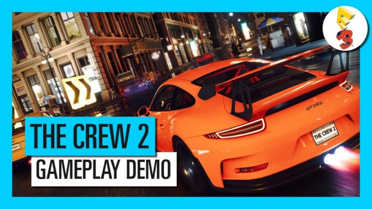 the crew 2 demostraci n gameplay e3 2017 ps4 pc xone. Black Bedroom Furniture Sets. Home Design Ideas