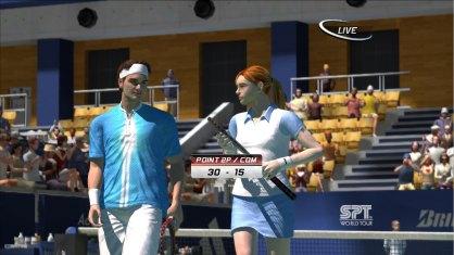Virtua Tennis 3: Virtua Tennis 3: Avance 3DJuegos
