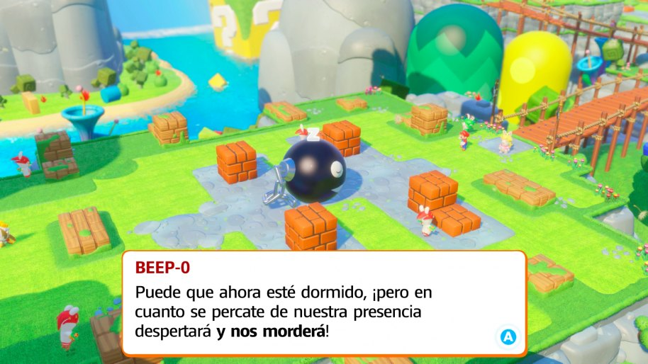 Mario + Rabbids Kingdom Battle análisis