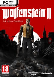 Carátula de Wolfenstein 2: The New Colossus - PC