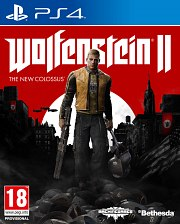 Carátula de Wolfenstein 2: The New Colossus - PS4