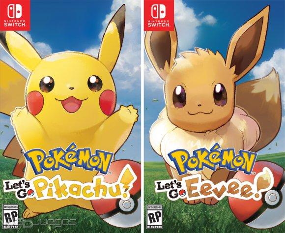 Pokemon Let S Go Pikachu Pokemon Let S Go Eevee Para Nintendo