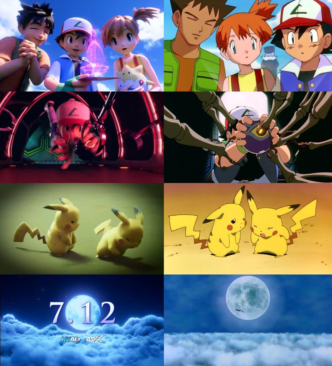 La película Pokémon Mewtwo Strikes Back: Evolution presenta un nuevo tráiler