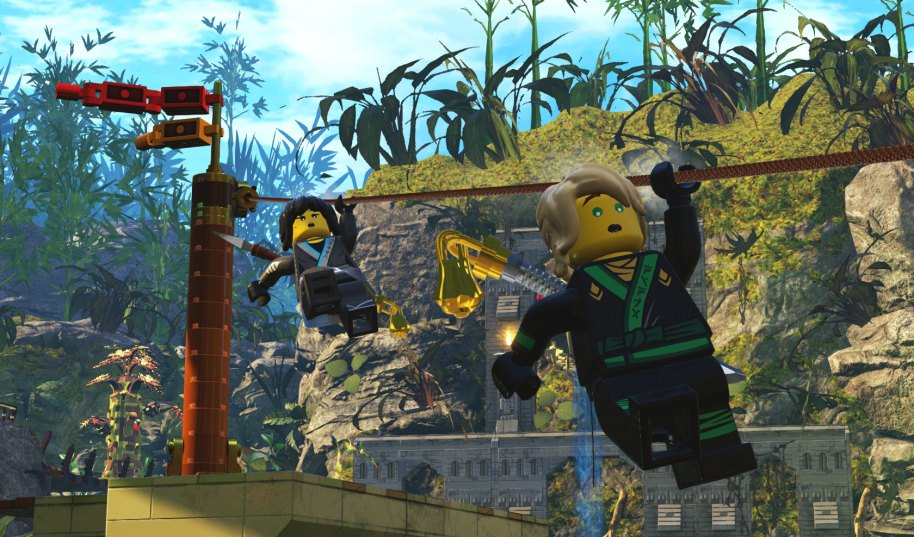 La LEGO Ninjago Película PS4