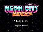 Neon City Riders - Pantalla