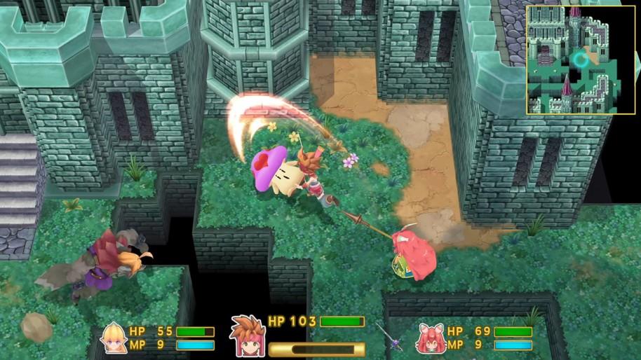 Secret of Mana: Secret of Mana 3D, nostalgia 16 bit remasterizada