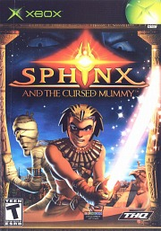 Carátula de Sphinx and the Cursed Mummy - XBOX