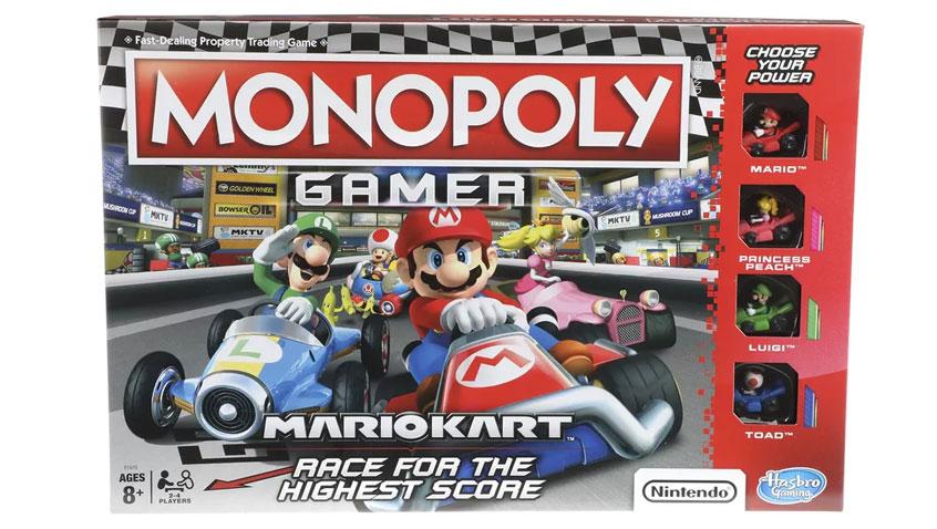 Hasbro Anuncio Monopoly Gamer Mario Kart Edition 3djuegos