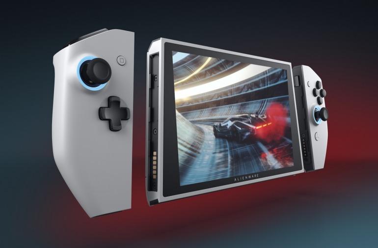 Dell presenta Alienware Concept UFO, su PC de gaming con diseño de Nintendo Switch