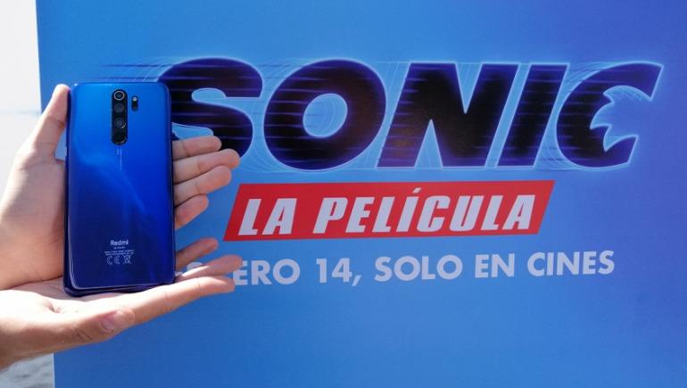 Llega a México el Redmi Note 8 Pro edición especial de Sonic