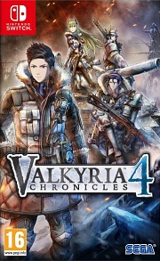 Carátula de Valkyria Chronicles 4 - Nintendo Switch