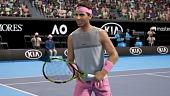 Así luce AO Tennis, el nuevo videojuego de tenis de Big Ant Studios