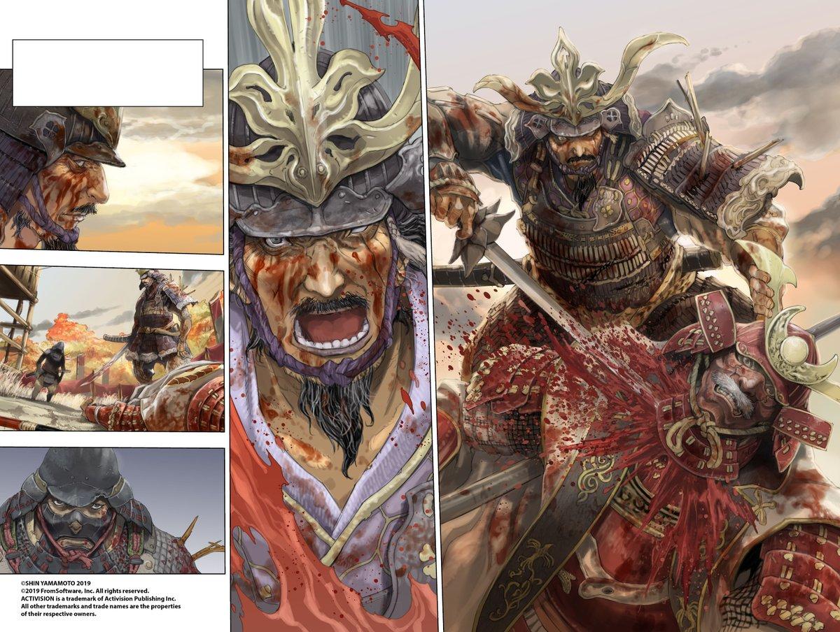 El manga de Sekiro: Shadows Die Twice ampliará la historia del videojuego