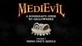 Aprende a usar el escudo en MediEvil