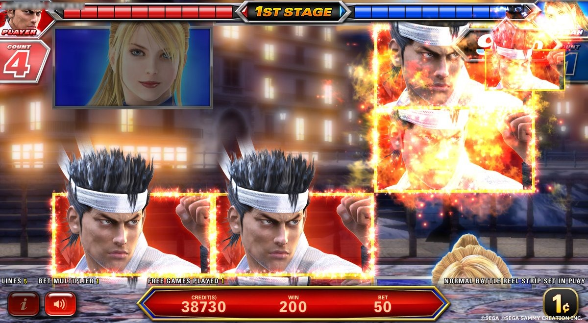 Virtua Fighter y House of the Dead vuelven convertidos en máquina tragaperras