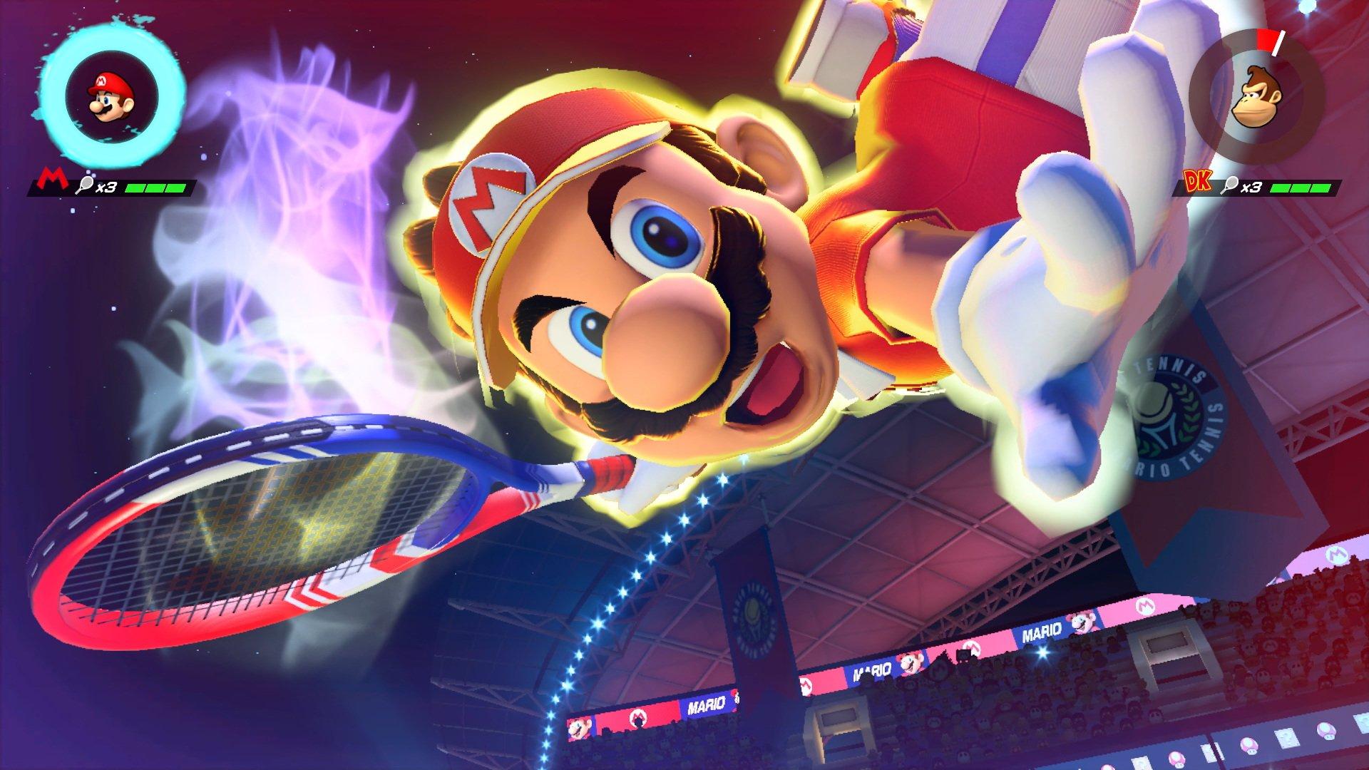 013a1b20ea Mario Tennis Aces: Los 4 puntos de partido que maneja Mario Tennis Aces