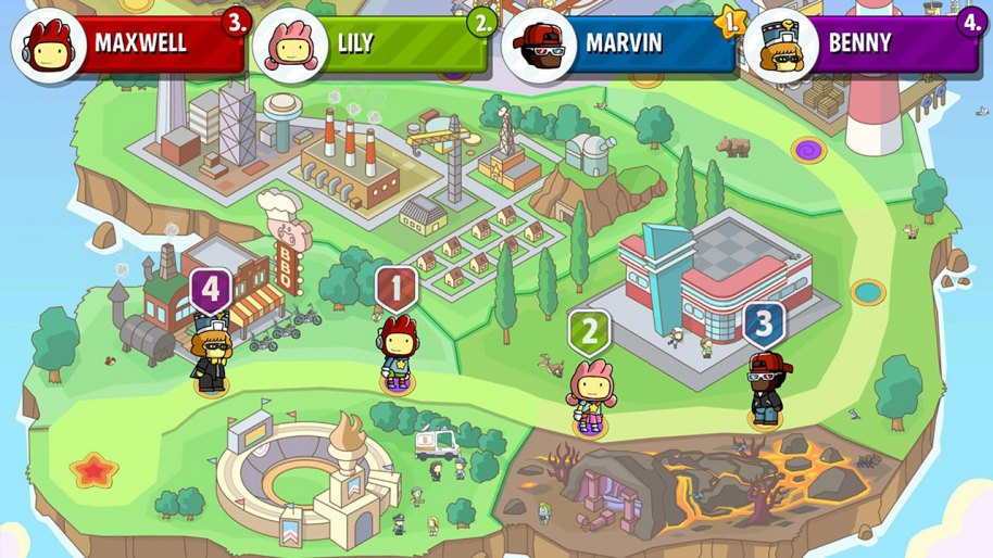Scribblenauts Showdown análisis