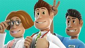 Tráiler para consolas de Two Point Hospital