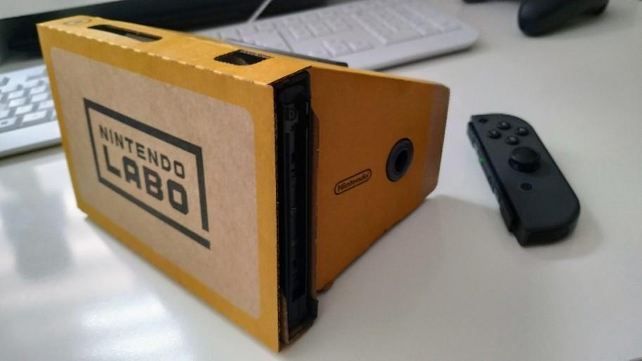 Nintendo Labo: Nintendo Labo VR, una gran forma de entrar en la realidad virtual