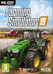 Carátula de Farming Simulator 19 - Mac