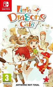 Carátula de Little Dragons Café - Nintendo Switch