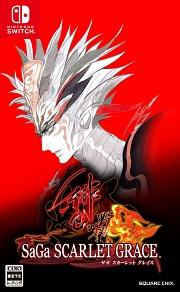 Carátula de SaGa: Scarlet Grace - Nintendo Switch