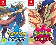 Carátula de Pokémon Espada / Pokémon Escudo - Nintendo Switch