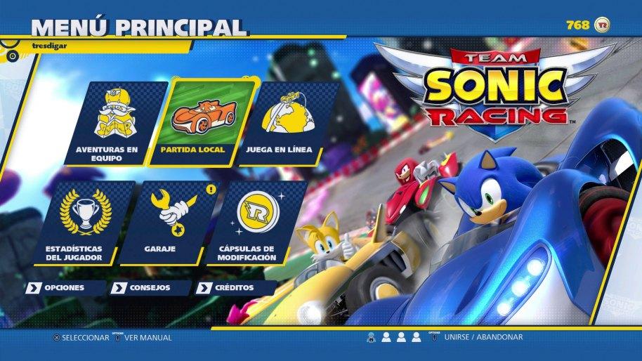 Team Sonic Racing análisis