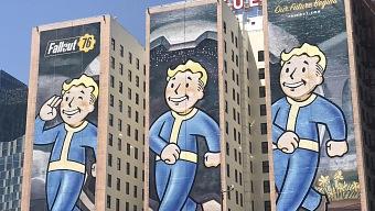 Terminado el triple mural gigante de Fallout 76 para el E3 2018