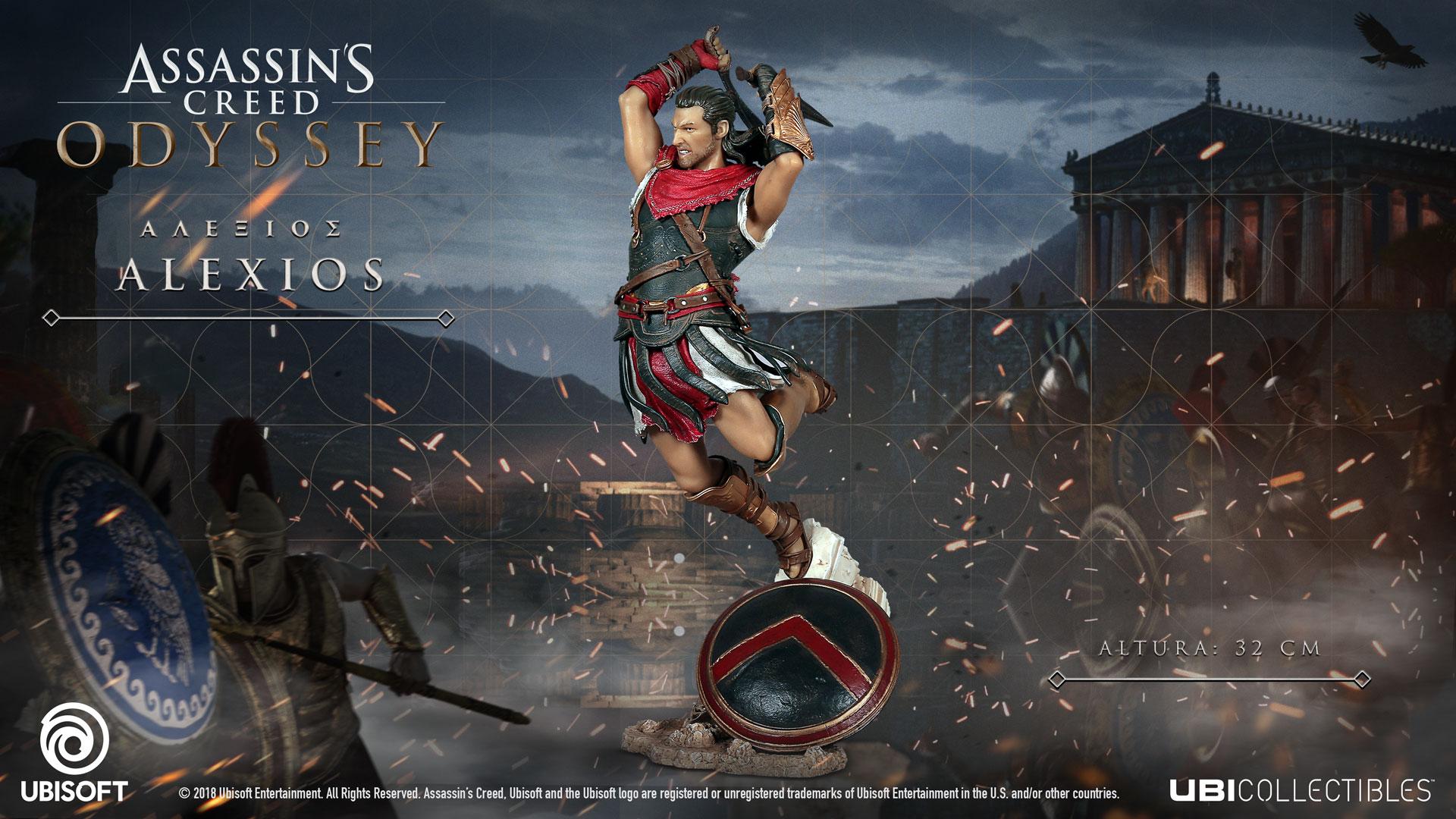 Assassin's Creed: Odyssey presenta sus figuras y réplicas