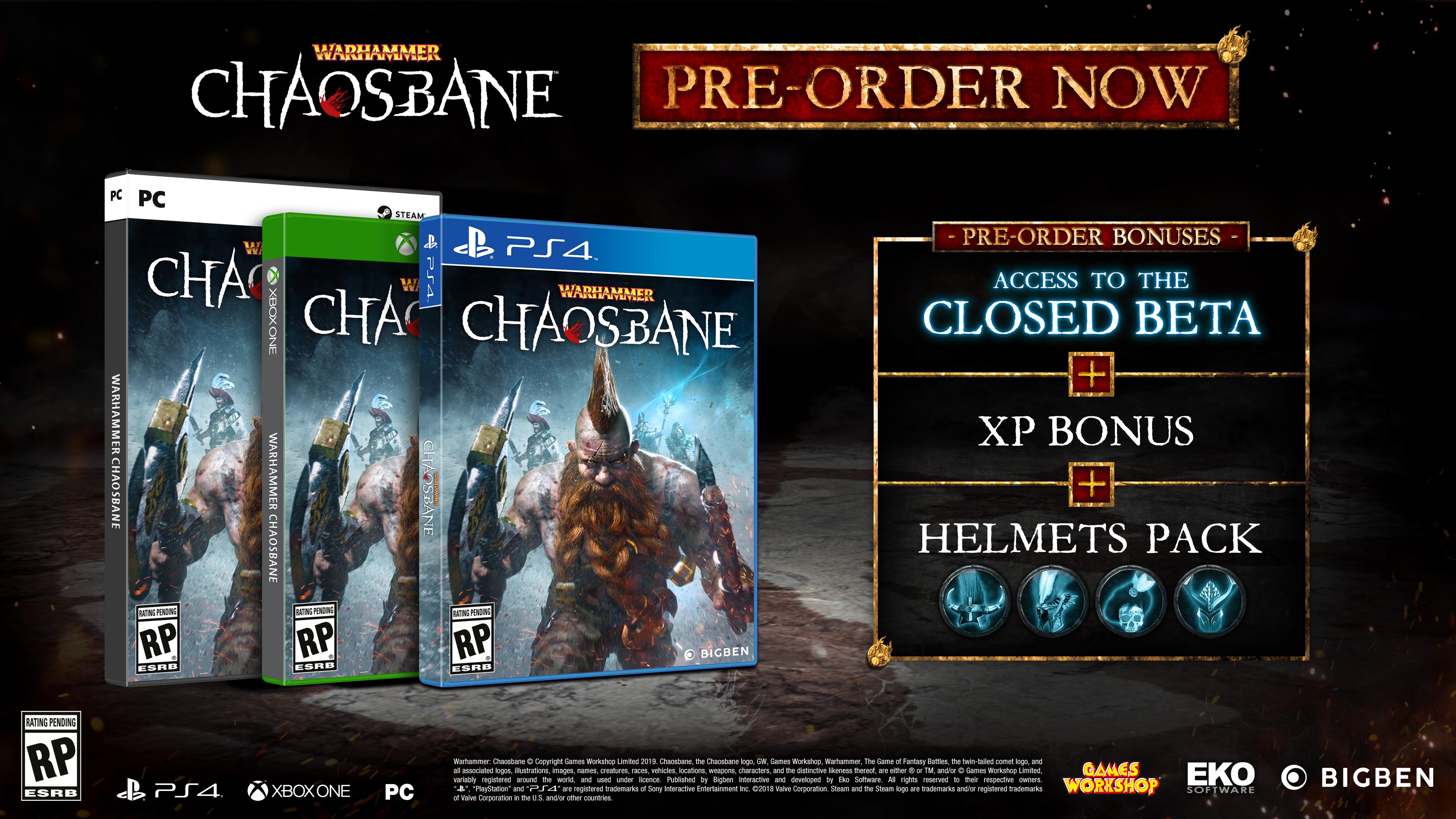 ¿La perfecta mezcla entre Diablo y Warhammer? Así es Warhammer: Chaosbane