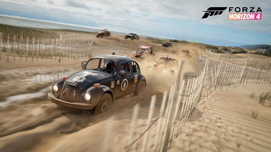 Forza Horizon 4: FORZA HORIZON 4 en el E3 es Velocidad y Espectáculo