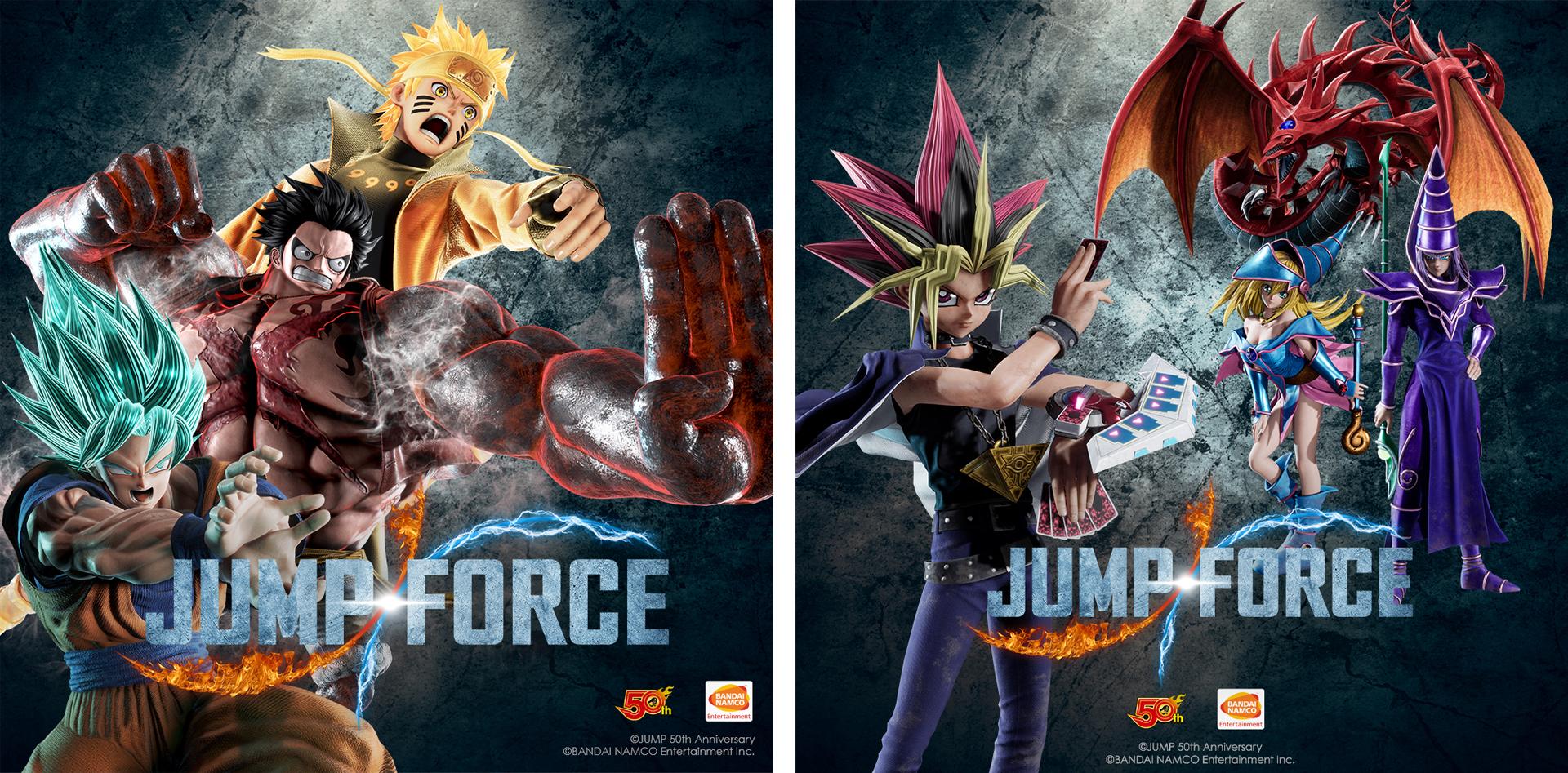 Jump Force se estrena en febrero. Esta es su edición coleccionista