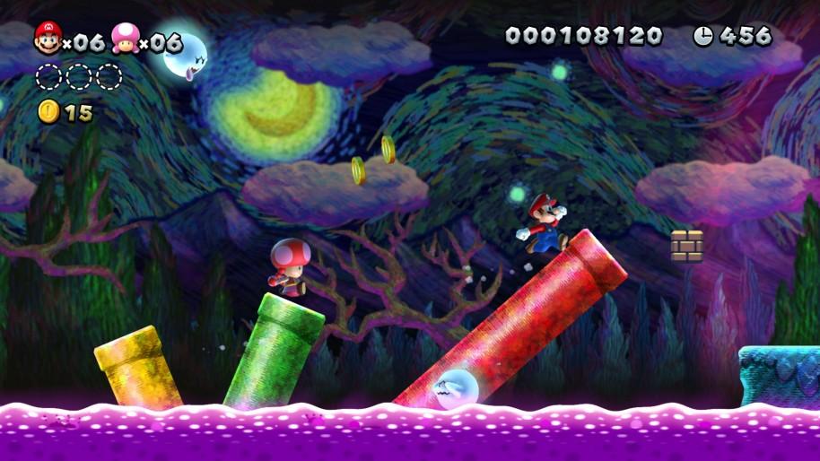 New Super Mario Bros. U Deluxe: Mario salta de Wii U a Switch. Impresiones de New Super Mario Bros U. Deluxe